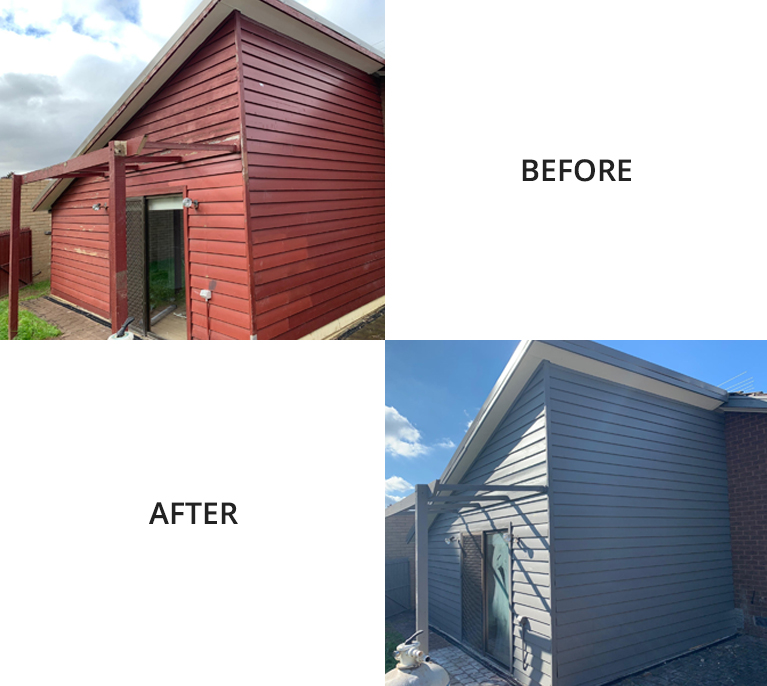 Exterior Painting Before After